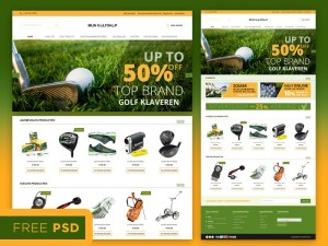 Sport Ecommerce Web template