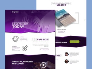 Startup PSD Web Template