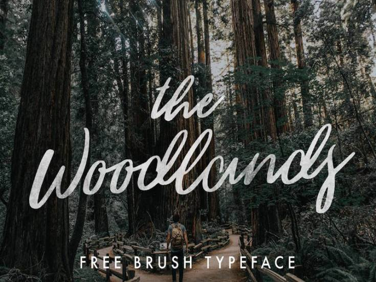 The-Woodlands-Free-Font
