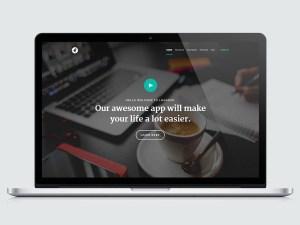 Lhander : Modern HTML Landing Page Template