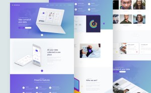 Misocial : Clean PSD Website Template