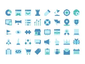Free Ilustrator SEO Icons