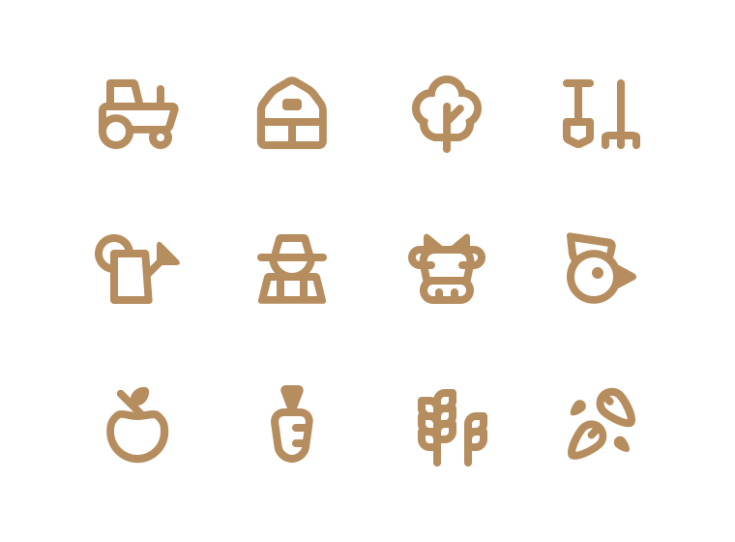 Free Farm Icon Set