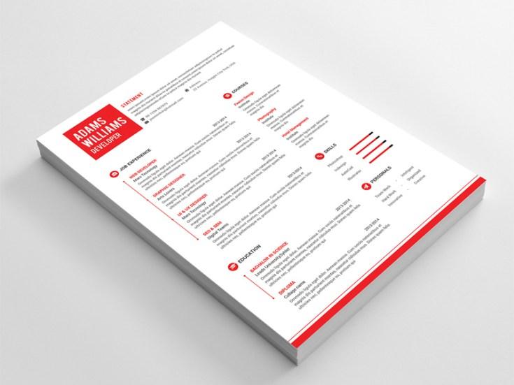 Free Simple CV Template