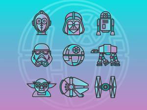 Free Star Wars Icon Set