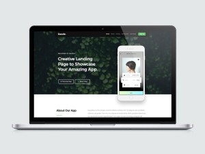 Dazzle - Free App Landing Page HTML Template