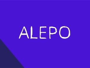 Alepo - Free Rough Sketch Font