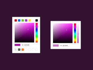 Color Picker Sketch Template