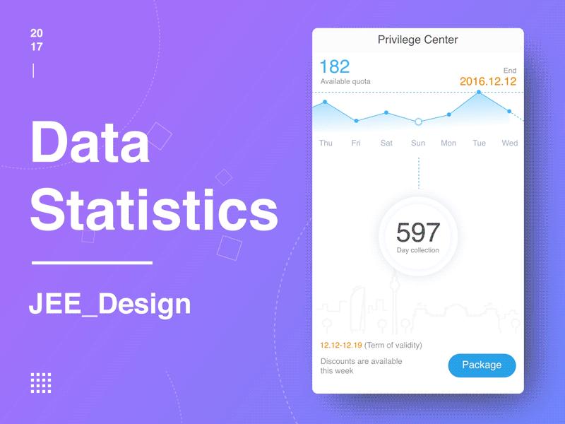 Data Statistics App UI