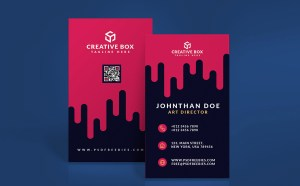 Free Digital Agency Business Card Template