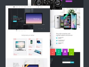 Free Ecommerce Landing Page