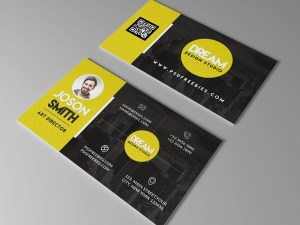 Free Art Director Business Card