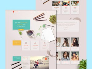 Free Education Based Website Template