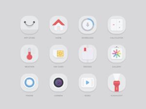 Free Mobile App Icon Set
