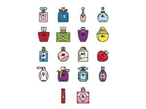 Free Perfume Icon Set