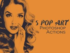 Free Pop Art Photoshop Action