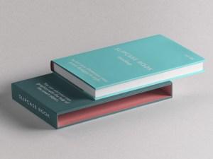 Free Slipcase Book Mockup
