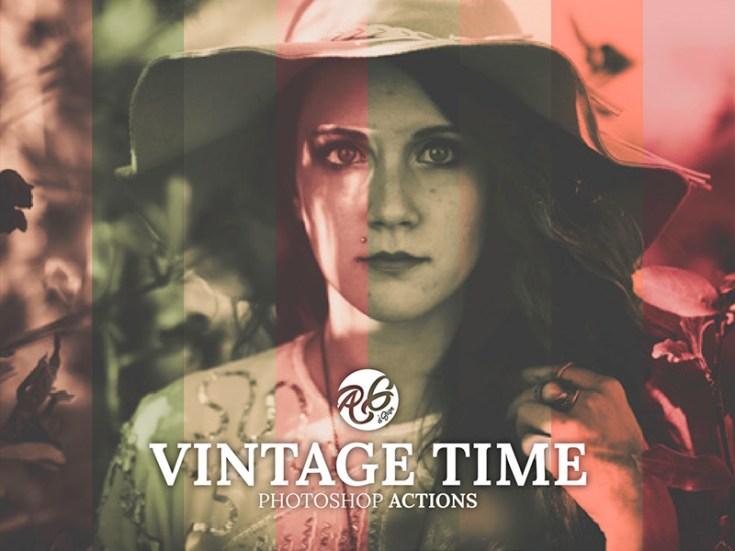 Free Vintage Style Photoshop Action