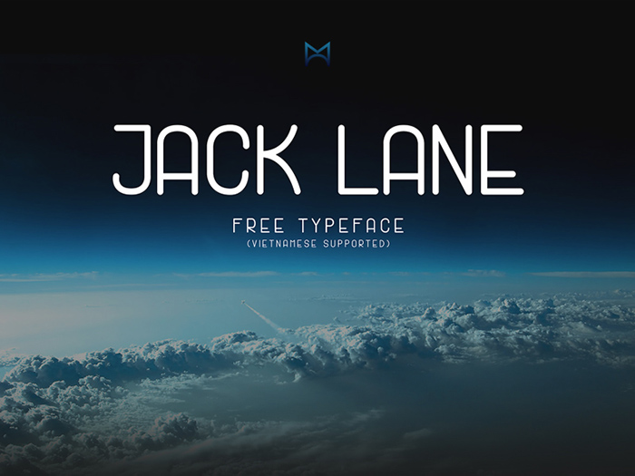 Jack Lane - Free Display Font