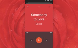 Material Design Music Player UI