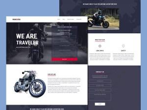Nikosa Rider Wordpress Theme