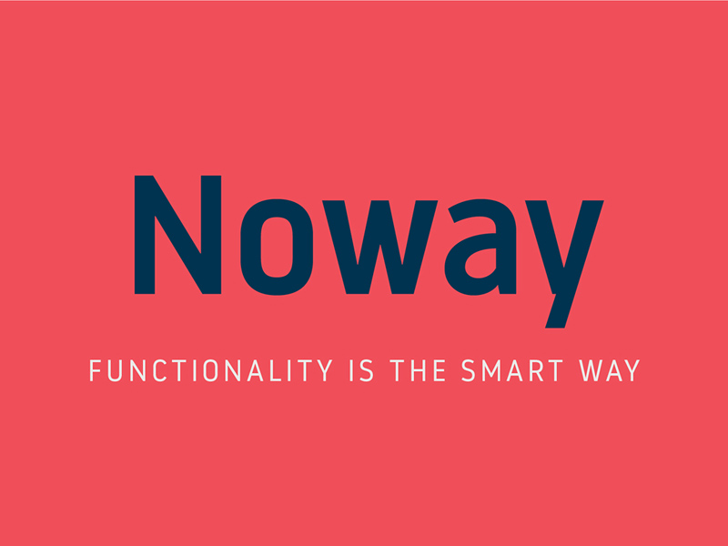 Noway – Free Typeface