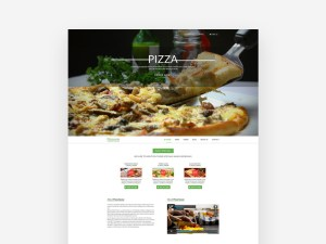 Pizza Restaurant Website Template