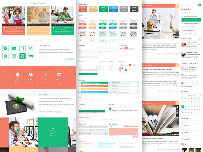 Unilearn : Free Education Website Template