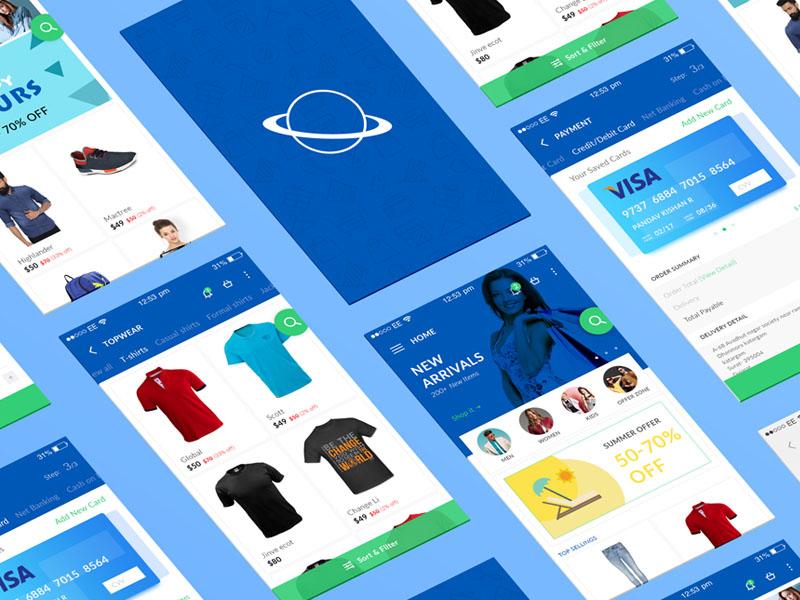 Universe – Free Ecommerce UI Kit PSD