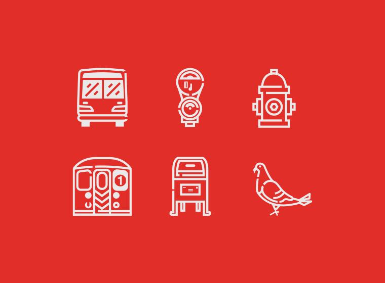 Urban Icon Set