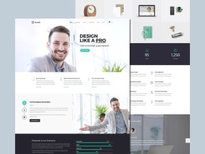 Blake - Business PSD Template