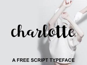 Charlotte – Free Script Typeface