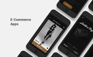 E-Commerce App Screens UI Kit