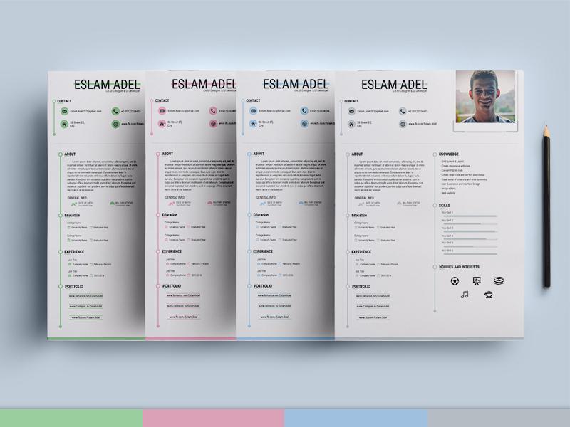 Elegant CV/Resume Template (AI)