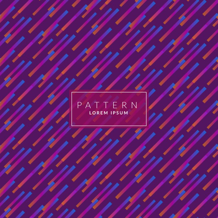 Free Abstract Purple Color Pattern