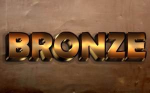 Free Bronze Text Effect