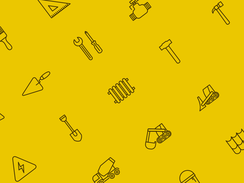 25 Free Construction Icons