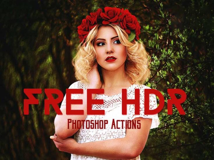 Free High Dynamic Range Photoshop Action