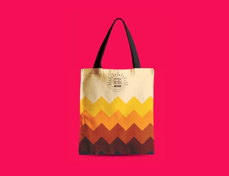 Free High Quality Tote Bag Mockup