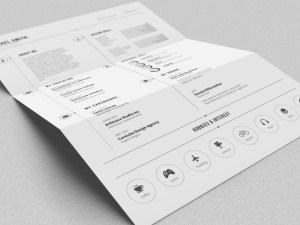 Free Minimalist Resume Template