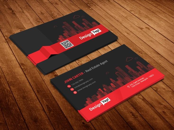 Free real estate business card psd template free download free real estate business card psd template colourmoves