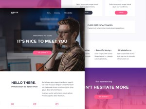 Halox PSD Email Template