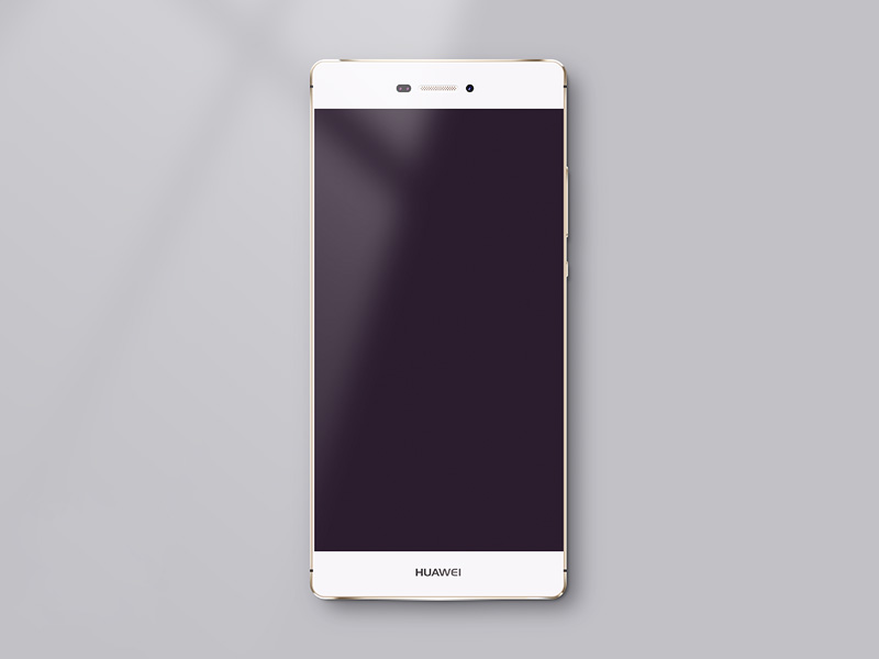 Huawei P8 Mockup