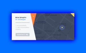 Location Map UI Design