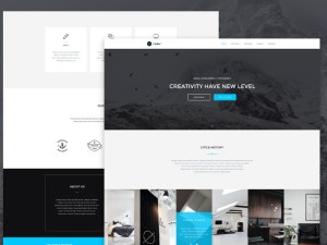 Modus - Free One Page Bootstrap Template