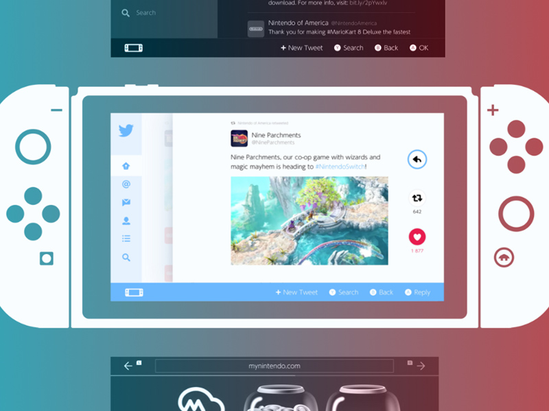 Free Nintendo Switch UI Kit