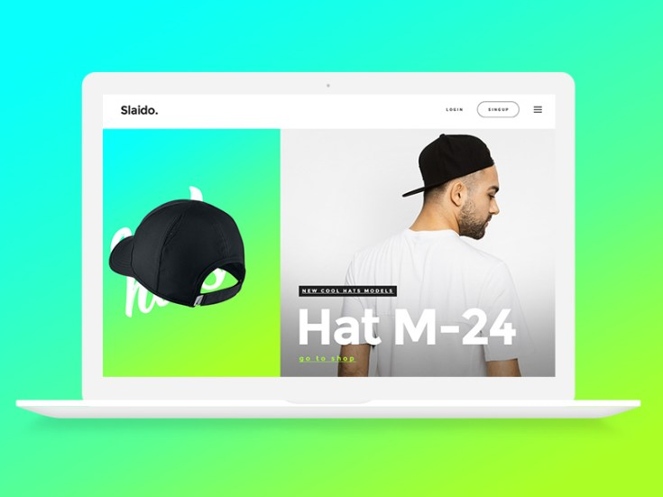 Product Slider UI Design