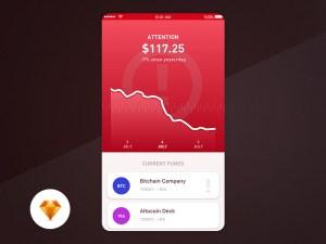 Trading App UI Design
