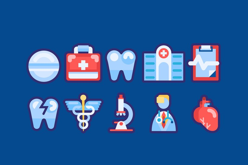 10 Free Medical Related Icons