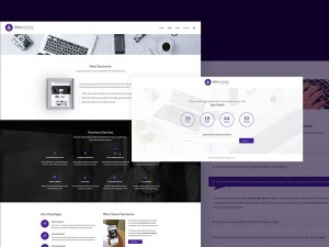 Andromeda Agency Website Template